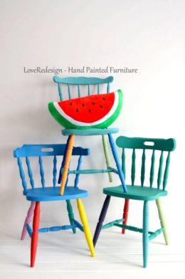Krzesła RAINBOW