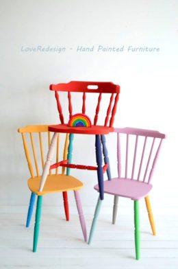 Krzesła RAINBOW 2